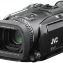 """Der Festplatten-Camcorder GZ-HD7EX von JVC nimmt Videos in \""""Full HD\"""", also mit 1920 x 1080 Bildpunkten auf."""