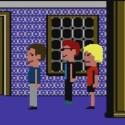 Neben Dr. Fred und dem Space-Polizisten treffen die drei Detektive auch auf das grüne Tentakel.