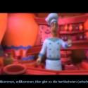 Der Koch ist einer der neuen Charaktere die schon gleich am Anfang für mächtig Verwirrung sorgen.
