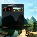 Im Verwaltungs-Programm von 360desktop können Sie den gewünschten Hintergrund auswählen und Widgets hinzufügen.