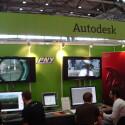 Am Stand von Autodesk