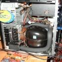 Ein komplett wassergekühlter Rechner Marke Eigenbau.