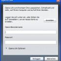 Mit Opera Link können Sie Ihre Lesezeichen mit Opera-Browsern auf anderen Computern oder Mobiltelefonen mit Opera mini abgleichen.