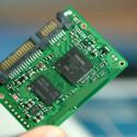Die sehr kleine und handliche SSD-Platte.