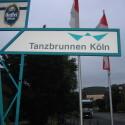 Gefunden - Tanzbrunnen in Köln