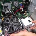 Doch beim NEC Valuestar W steckt noch etwas mehr drin - eine besonders leise Wasserkühlung für Prozessor und Festplatte. (Bild: PC Watch)