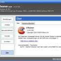 Kontrollieren Sie nach dem Start von CCleaner immer zuerst, ob Sie die aktuellste Version verwenden. ist das der Fall, klicken Sie auf <i>Cleaner</i>.
