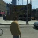 Überall liegen Autowracks in der Stadt herum.