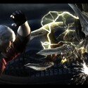 Dante im Kampf gegen den Dämonen Blitz.