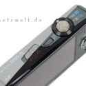 Der Schieber auf der Kameraoberseite bestimmt den Betriebsmodus der Ixus.