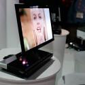 Sony XEL-1 auf der CES in Las Vegas: Der kleine OLED-TV ist der erste Vorbote einer neuen Generation.