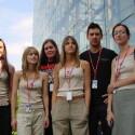 Bei Counter-Strike Women treten nur Frauen-Teams gegeneinander an. Diese Damen gehören aber eher zum ESWC-Team