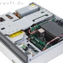Auch unter der Haube kann sich der Entertainer sehen lassen: leistungsstarker Core 2 Duo-Prozessor von Intel, spieletaugliche Nvidia-Grafik, ein Gigabyte Arbeits- und 250 Gigabyte Festplattenspeicher-