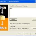 Besitzt eins Ihrer Mozilla-Programme mehrere Profile, können Sie hier das korrekte auswählen und den Speicherort angeben.