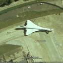 Eine Concorde auf einer Ihrer letzten Reisen