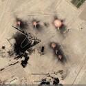 Flammen irgendwo im Irak