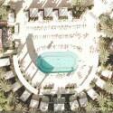 Faule Touris am Pool des Ceasars Palace in Las Vegas