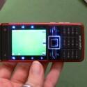 Bei aktivierter Kamera zeigen sich die beleuchteten Sensortasten.