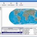 Unter <i>Network Status</i> zeigt die Weltkarte an, mit welchen Nutzern Sie gerade auf welche Weise verbunden sind im Tor-Netz.