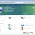 Windows 7 begrüßt den Nutzer wie aus Vista gewohnt.
