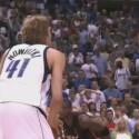 Derzeit ist Sommerpause in der besten Basketball-Liga der Welt: Doch wenn im Winter wieder Dirk Nowitzki, Dwayne Wade oder Kobe Bryant wieder punkten, dunken und blocken, können Internetnutzer die Highlights und Interviews aus der NBA im Video-Podcast ansehen. <br>(Feed: <a href=http://broadband.nba.com/cc/podcast.php?type=vodcast>http://broadband.nba.com/cc/podcast.php?type=vodcast</a>)