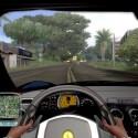 In der Cockpitsicht sind sogar die Finger zur Betätigung der Schaltwippen animiert. Allerdings varriiert der Detailreichtum des Interieurs von Fahrzeug zu Fahrzeug.