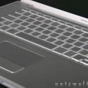 Multi-Touch-Trackpad und Tastatur des MacBook Pro.