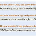 Über die Links, die unter dem Video-Wiedergabe-Fenster eingeblendet werden, können Internetnutzer jedes Video leicht verlinken oder sogar auf der eigenen Seite einbinden.
