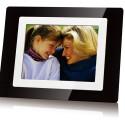 Display: 8 Zoll / Auflösung: 800 x 600 Pixel / Bildschirmformat: 4:3 / Speicherkarten: CF, SD, XD, MS, MMC / Videoformate: MJPEG, AVI / Helligkeit: 200cd/m² / Abmessungen: 263 x 198 x 40 mm / Gewicht: 1.000 g