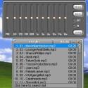 Zusätzlich zum Player kann auch noch eine Playlist und der Equalizer eingeblendet werden. Der Player an sich ist im hier gezeigten Audio-Modus übersichtlich schmal.