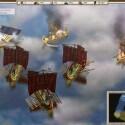Auch Schiffe werden versenkt. Das Wasser zählt dank Pixelshader zu den wenigen Hinguckern des Spiels.