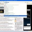 Die neuen Features des Firefox 3 wie hier die Awesomebar funkionieren auch in der portablen variante.
