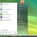 Startmenü und Taskleiste besitzen veränderte Farbverläufe. Die komplett neue Taskleiste ist in dieser Vorabversion von Windows 7 allerdings noch nicht enthalten.