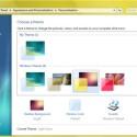 In Windows 7 haben Sie die Möglichkeit, die Farbe des Glasrahmens sowie der Hintergrundbilder aufeinander abzustimmen.