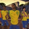 Starke Truppe: Wer gegen Brasilien spielt sollte sich warm anziehen.