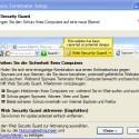 Auf Wunsch können Sie eine Leiste namens <i>Web Security Guard</i> in den Browser integrieren. Diese ist allerdings ressourcenhungrig.