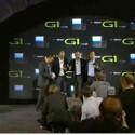 Alle Vertreter posieren mit dem G1