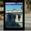 Eine Besonderheit des Google-Phones - das Handy dreht sich mit dem Betrachter.