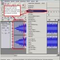 Mit Audacity kann man Songs auch ein- und ausblenden lassen.