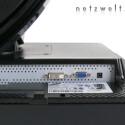 Ein Blick auf die Anschlüsse: HDCP-fähiger DVI-Anschluss und analoger Monitoreingang