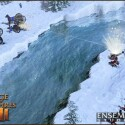 Screenshot AoE III: Kämpfe in unterschiedlichem Terrain zu jeder Jahreszeit