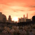 Central Park und Sonnenuntergang. Was für eine Atmosphäre.