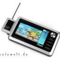 Der Cowon A3 ist nicht nur ein vollständiger Multimedia-Player. Mit dem passenden Zubehör wird er zum Überall-TV.