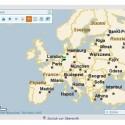 Der Ortungsdienst setzt auf das aus dem Routenplaner map24 bekannte Kartenmaterial.