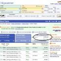 Der Anbieter unterschlägt anfallende Gebühren, die erst die Suche bei der Fluggesellschaft aufdeckt.