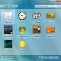 Noch bietet die M3 von Windows 7 die gleichen Desktop-Elemente wie Vista.
