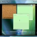 Der Windows Media Player erscheint schlanker und abgespeckter als noch bei Windows Vista.