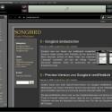 Der Musikplayer kann auch im Netz surfen und Webseiten anzeigen.