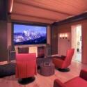 Das Wohnzimmer als Kinosaal.