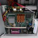 Der Kupferkühler stammt von einem Asus Mainboard.